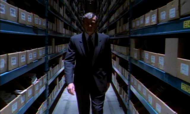 X-Files pilot episode still